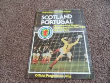 Scotland v Portugal, 1980 [EC]